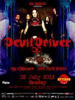 Devildriver Live @ Kyttaro Live Stage - Athens...