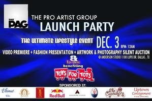 The Pro Artist Group Inaugural Launch Party benefiting...
