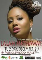 SOUL LOUNGE USA presents LALAH HATHAWAY Live! at...