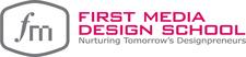 First Media Design School  logo