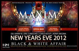 Official Maxim Black & White New Year's Eve Affair