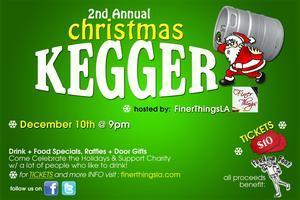 FinerThingsLA Christmas Kegger 2011