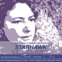 Starhawk Workshop & Winter Solstice Ritual