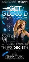 glow boston presents: GET GLOW'D 12.8.2011 at THINK...