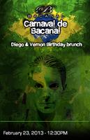 Carnaval de Bacanal brunch 2013