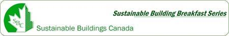 Sustainable Buildings Breakfast: CMHC