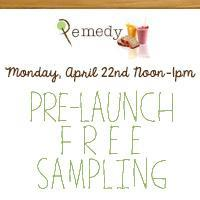 Remedy Smoothie, Juice & Bread Company Pre-Launch Free...