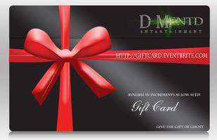 D-Mentd Entertainment GIFT CARD