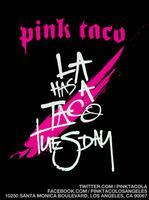 Taco Tuesday - Pink Taco!