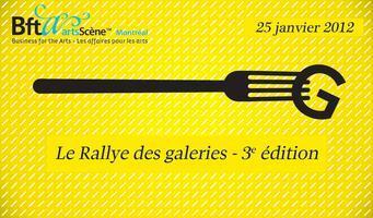 Rallye des galeries 25 janvier 2012