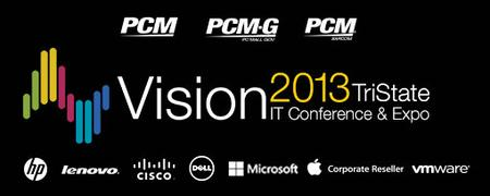 Vision 2013 TriState IT Conference & Expo