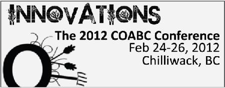 2012 COABC Conference