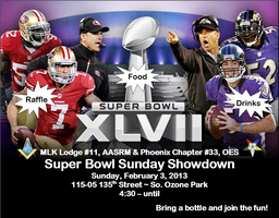 Super Bowl Sunday Party & Chairty Fundraiser