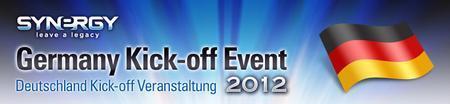 Deutschland, 2012 Kick-off Veranstaltung