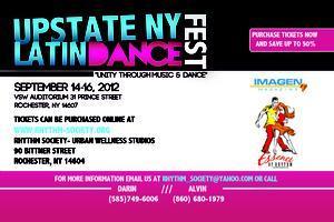 UPSTATE NY LATIN DANCE FEST 2012