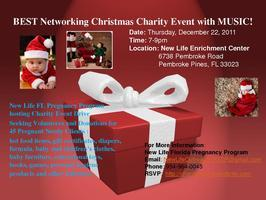 Christmas Charity Event with MUSIC!