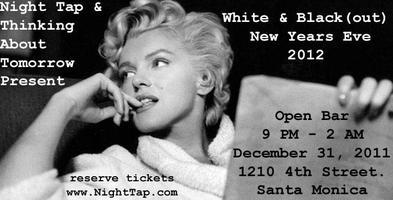 Los Angeles New Years Eve 2012 - White & Black(out)...