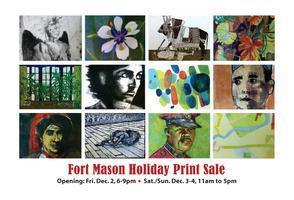 Fort Mason Printmakers 2011 Holiday Print Sale