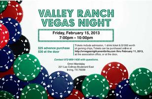 Valley Ranch Vegas Night