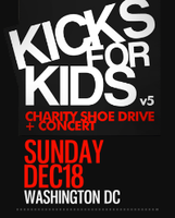 5th Annual Kicks for Kids Charity Shoe Drive &...