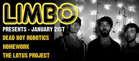 Fri 20th January: Dead Boy Robotics, Homework, The...