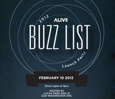 Buzz List Launch Party