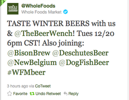 Virtual Winter Beer Tasting - Live on Twitter!