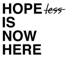 Hope Is Now Here logo