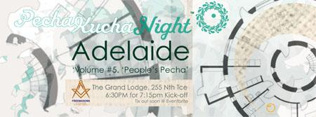 PechaKucha Night - Adelaide Volume #5. Event Hashtag...