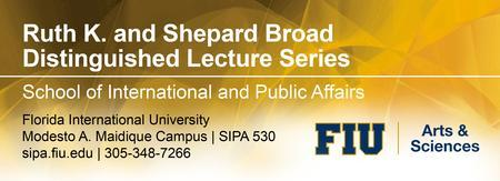 Lecture by Madeleine K. Albright at FIU