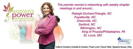 Women's Power Networking Visitor's Day Luncheon Presents...