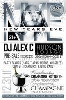 "NEW YEARS EVE 2012 at ""HUDSON"""