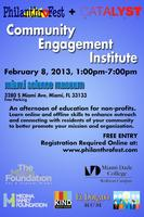 PhilanthroFest and Catalyst Miami Community Engagement Insti...