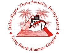 Delta Sigma Theta Sorority, Inc. Long Beach Alumnae Chapter logo