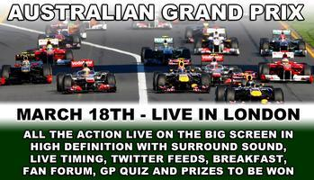 2012 Australian Grand Prix Breakfast LIVE in London...