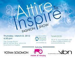 Attire to Inspire Charity Fashion Show