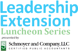 LCAA Leadership Extension Luncheon Series featuring...