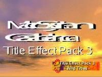 Casablanca Expert Webinar: Title Effects Pack Three