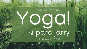 Yoga @ Parc Jarry