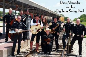 DAVE ALEXANDER and his BIG TEXAS SWING BAND