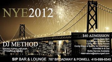 NYE 2012 with DJ METHOD