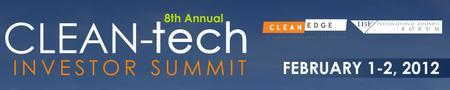 8th Annual Clean-Tech Investor Summit