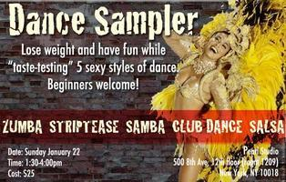 Dance Sampler Workshop