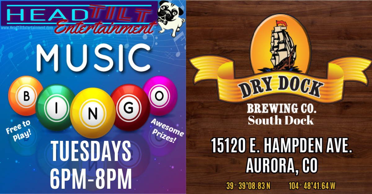 Music Bingo at Dry Dock Brewing Co., South Dock