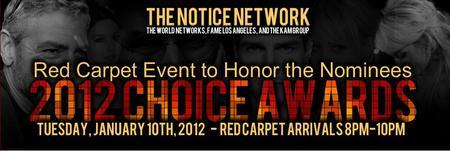Star-studded event set to kick off the 2012 Choice...