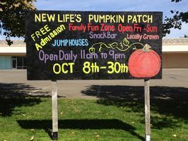 New Life's Pumpkin Patch in Fair Oaks, Ca
