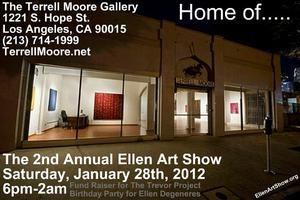 The 2nd Annual Ellen Art Show (Art Show, Charity Fund...