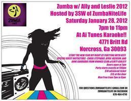 Zumba w/ Studio 13 Fitness Ally P and Leslie P!!!!