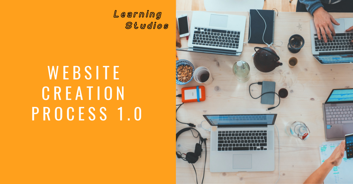Learn about the process of creating a website.