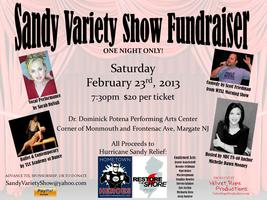 Hurricane Sandy Variety Show Fundraiser